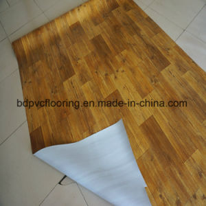 Hard Backing 1.5mm PVC Commercial Flooring Roll for Office Warehouse pictures & photos