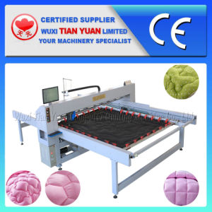 China Famous Computerized Single Needle Quilting Machine pictures & photos
