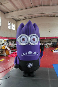 High Quality Custom-Made Inflatable Moving Cartoons, Inflatable Little Purple pictures & photos