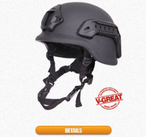 Military Pasgt Helmet with Rails and Shroud Which V50=696m/S pictures & photos
