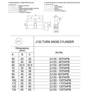 Cylinder (J120) pictures & photos