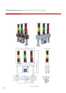 Zw7a-40.5 Series Vacuum Circuit Breaker Outdoor Type with CT Inside pictures & photos