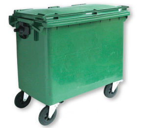 660lpastic Outdoor Garbage Cart (B-109) pictures & photos