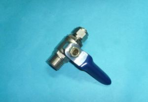 Brass Gas Ball Valve with Butterfly Handle pictures & photos