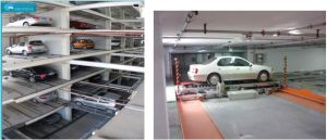 5 Level Automated Robort Ppy Plane-Moving Parking Equipment pictures & photos