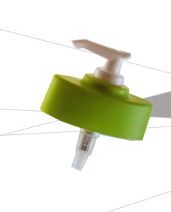 Plastic Lotion Pump for Bottles with Five Kinds of Head Cap 18/410 pictures & photos