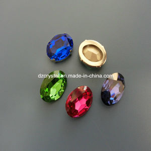 Point Back Decorative Fancy Crystal Stone for Dress Pujiang pictures & photos