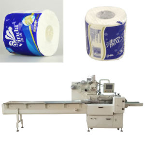 Toilet Tissue Paper Packing Machine for Roll Packaging pictures & photos