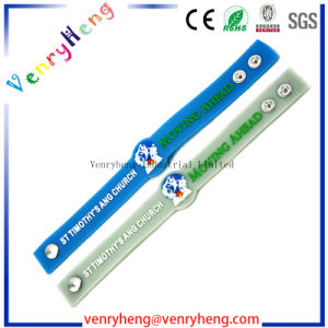 Promotion 3D Cartoon Rubber Wristand Bracelet for Gift pictures & photos
