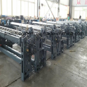 340cm 10 Shafts Cam Air Jet Loom Textile Machine with Double Electronic Weft Feeder pictures & photos