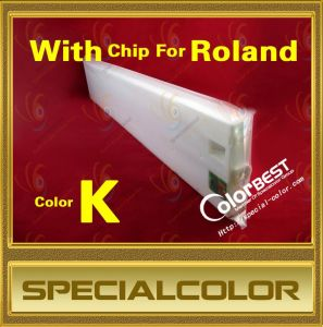 Hot Selling! Compatible Solvent Roland Printer Ink Cartridge with Chip pictures & photos