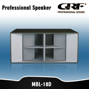 Grf PRO Audio Dance Stack Professional Speaker (MBL-18D)