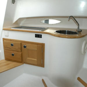 23FT Fiberglass Cabin Cruiser Boat for Sale pictures & photos