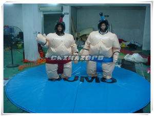 Top Sale Foam Padded Sumo Suits Come with Sponge Mat pictures & photos