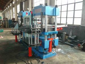 Automatic Plate Vulcanizer Hydraulic Press Rubber Machine pictures & photos