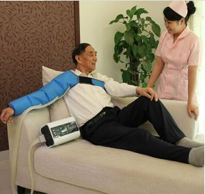 Intermittent Pneumatic Air Compression Leg Massager for Pain Relief