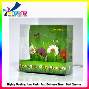 OEM Design Plastic Cosmetic Gift Box with Paper Cover pictures & photos