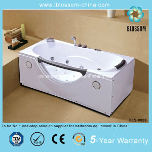 Hangzhou Made Most Modern ABS Massage Bathtub (BLS-8028) pictures & photos