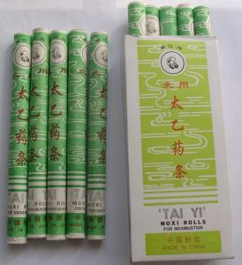Tai Yi Medicated Moxa Roll (10 PCS/Pack) pictures & photos
