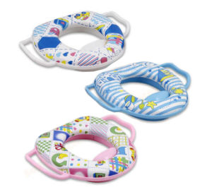 Baby Printing PVC Toilet Seat Cover with Handle pictures & photos