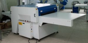 Double Pressure Straight Linear Fusing Press Machine for Collar pictures & photos