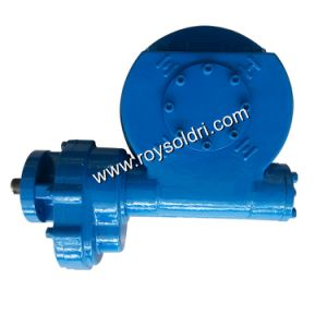 Rwsg6 Electric Operated Part Turn Worm Gearbox pictures & photos