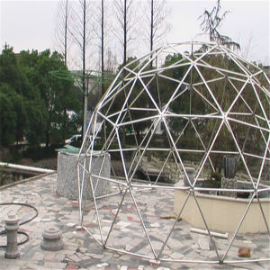 2016 Shelter Metal Frame Dome House Price, Geodesic Dome