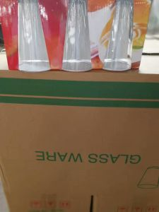 Practical Clear Glass Tumbler Water Cup Good Price Glassware Kb-J00180 pictures & photos