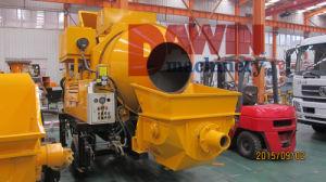 500L Mixer Drum Concrete Pump with 56kw Diesel Power pictures & photos