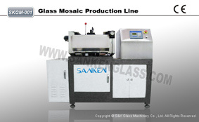 PLC Ctystal Glass Mosaic Machine pictures & photos