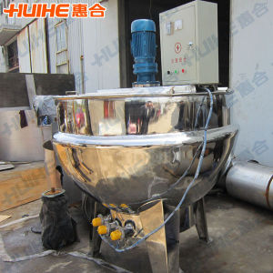 1000L Sanitary Fixed Type Jacket Kettle pictures & photos