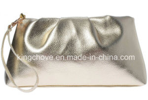Silver PU Fashion Latest Cosmetic Bag (KCC211) pictures & photos
