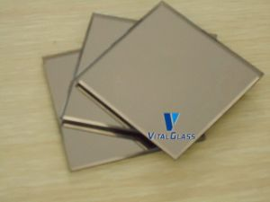 Silver/Aluminum/Copper Free/Safety/Decoration Glass Mirror Glass for Bathroom Mirror pictures & photos