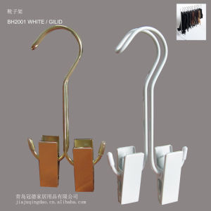 Metal Boots Clips Hanger Pair Wire Shoes Hanger pictures & photos