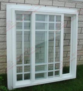 Plastic UPVC Sliding Window (BHP-SW01) pictures & photos