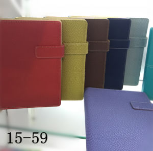 High Quality PU Leather Cover Notebook with Magnetic Closure