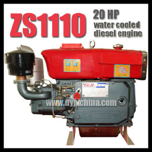 20HP Zs1110 Water Cooled Diesel Engine pictures & photos