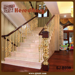 Solid Aluminum Baluster in Stair Parts/ Balcony Balustrade (SJ-B039) pictures & photos