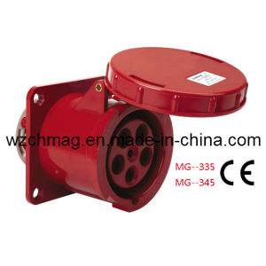 Industrial Panel Socket IP67 125A 3p+N+E 345