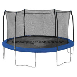 15FT Round Trampoline with 6 Legs and safety Net for Child and Adult Playing pictures & photos