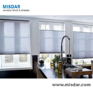 Window Treatment 25mm Pleated Shades pictures & photos