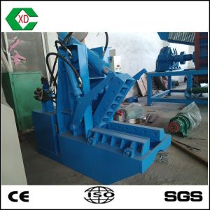 Hydraulic Waste Rubber Tyre Cutting Machine pictures & photos