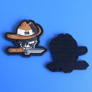 Custom Garment Hook & Loop Patch Wholesale pictures & photos