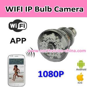 1080P Night Vision IP Bulb Camera