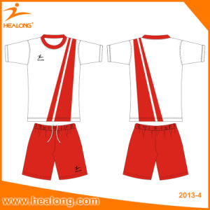 2017 Soccer Jersey Healong Custom Free design 100% Polyester Sublimated Football Jerseys pictures & photos