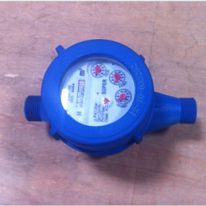 Multi-Jet Super Dry Type Plastic Water Meter Dn15mm-40mm pictures & photos