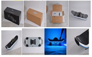 Wholesale One Wheel Electric Skateboard with LED & Bluetooth pictures & photos