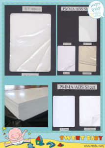 Extruded White Acrylic /ABS Sheet for Sanitary Ware Bathtub Shower Room with Anti-UV pictures & photos