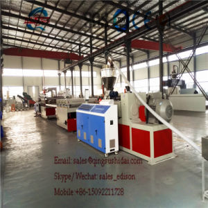 PVC Crust Foam Board Extrution Line Formwork Board Making Machine Board Making Machine PVC Ceiling Making Machines pictures & photos
