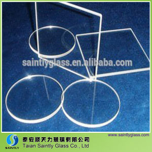 3-10mm Round Tempered Sight Glass/Optical Glass Lens pictures & photos